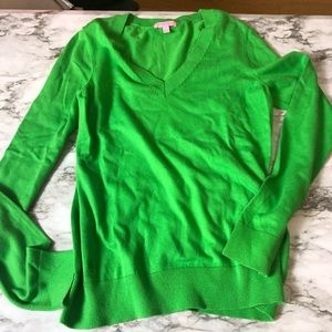Lilly Pulitzer Green Sweater